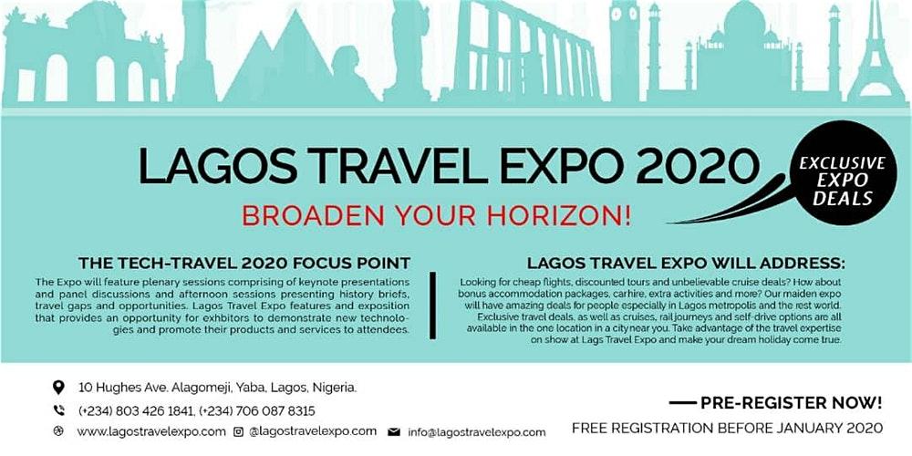 Lagos Travel Expo 2020